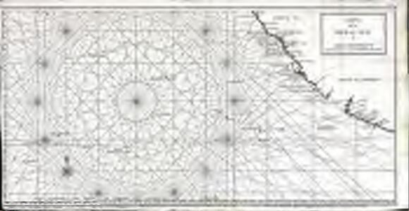 Carte de la mer du Sud ou mer Pacifique