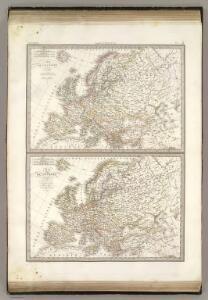 L'Europe 1789, 1813.