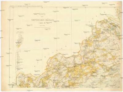 Karta öfver Sotholms Härad