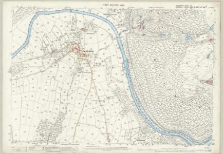 Devon CV.9 (includes: Calstock; Lamerton; Tavistock Hamlets) - 25 Inch Map