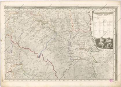 Mappa generalis regni Hungariae partiumque adnexarum Croatiae, Slavoniae...