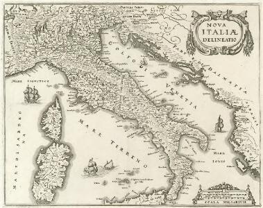 Nova Italiae Delineatio