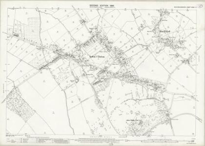 Buckinghamshire XXXIV.2 (includes: Aston Clinton; Buckland) - 25 Inch Map