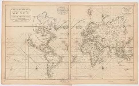 Carte generale de toutes les costes du Monde : et les pays nouvellement decouvert