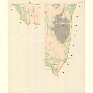 Tichau (Ticha) - m3107-1-008 - Kaiserpflichtexemplar der Landkarten des stabilen Katasters