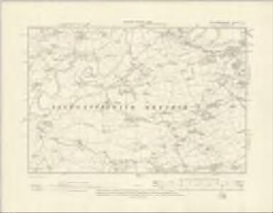 Montgomeryshire X.SE - OS Six-Inch Map