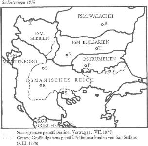 Südosteuropa 1878