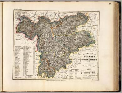 Tyrol, Voralberg, Lichtenstein.