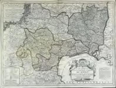 Le gouvernement general de Languedoc divisé en trois lieutenances generales