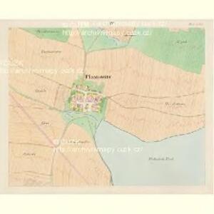 Plastowitz - c5816-1-003 - Kaiserpflichtexemplar der Landkarten des stabilen Katasters