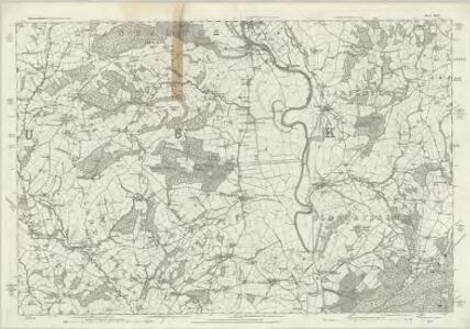 Monmouthshire III - OS Six-Inch Map
