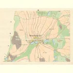 Ober Dubenky (Dubenky Horni) - m0776-1-003 - Kaiserpflichtexemplar der Landkarten des stabilen Katasters