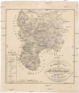 Geographische Karte des ob der ennsischen Salzkammerguts