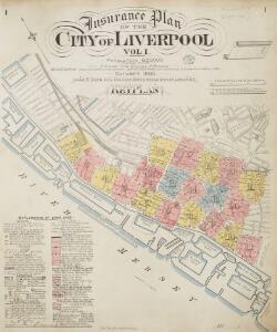 Insurance Plan of the City of Liverpool Vol. I: Key Plan