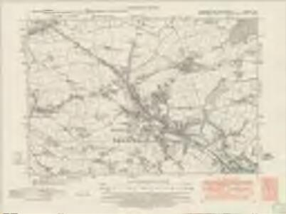 Yorkshire CCXCVIII.SE - OS Six-Inch Map