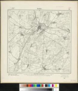 Meßtischblatt 2116 : Beeskow, 1911