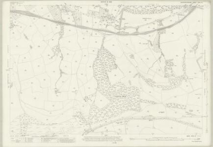 Gloucestershire XXVII.13 (includes: Charlton Kings; Coberley; Dowdeswell) - 25 Inch Map