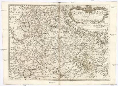 Tavola generale della provincia dell'Vmbria