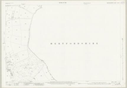 Buckinghamshire XXXIX.11 (includes: Bovingdon; Latimer) - 25 Inch Map