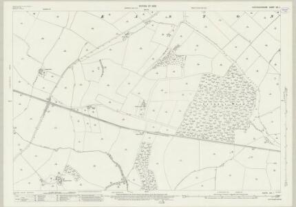 Huntingdonshire XXI.1 (includes: Easton; Ellington; Grafham; Great Staughton; Kimbolton; Spaldwick; Stow Longa) - 25 Inch Map