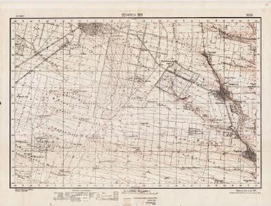 Lambert-Cholesky sheet 3039 (Segarcea Sud)