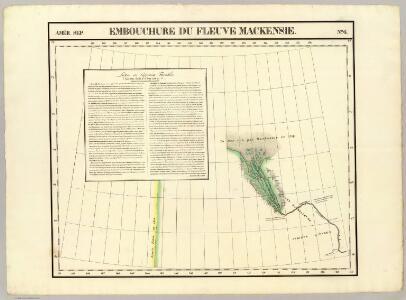 Embouchure, Fleuve Mackensie. Amer. Sep. 6.