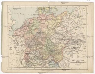 Deutschland mit der Kreis-Eintheilung von 1512