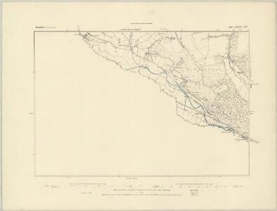 Shropshire LXXV.NE - OS Six-Inch Map