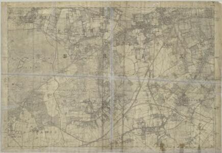 Surrey VII - OS Six-Inch Map