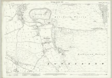 Somerset XVIII.5 (includes: Churchill; Shipham; Winscombe) - 25 Inch Map