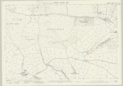 Somerset XLVI.5 (includes: Cutcombe; Exford; Winsford) - 25 Inch Map