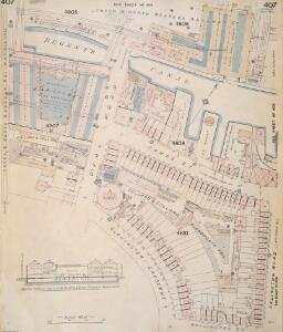 Insurance Plan of London Vol. xi: sheet 407