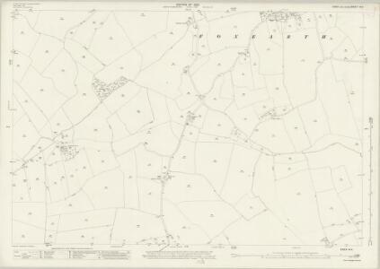 Essex (New Series 1913-) n X.4 (includes: Belchamp Otten; Belchamp Walter; Borley; Foxearth; Pentlow) - 25 Inch Map