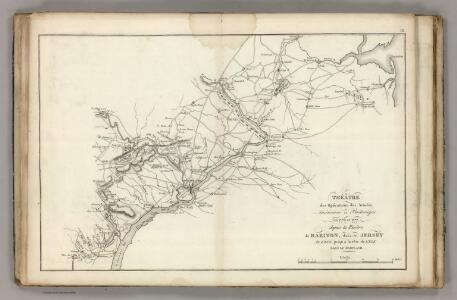 Armees Americaine et Britannique en 1776 et 1777 dans le Maryland.