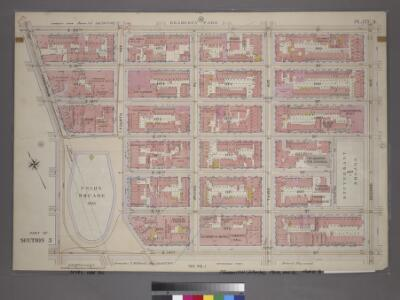 Plate 3, Part of Section 3: [Bounded by E. 20th Street, Second Avenue, E. 14th Street and Union Square and Broadway.]