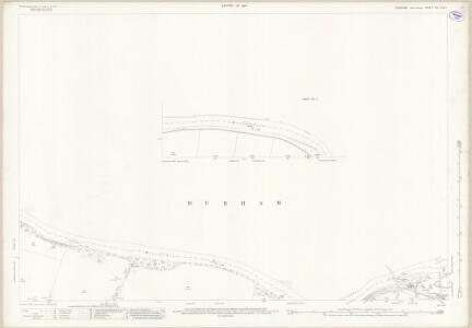 Yorkshire XIV.6 (inset XIV.7) (includes: Cliffe; Eppleby; Gainford; High Coniscliffe; Manfield; Piercebridge) - 25 Inch Map