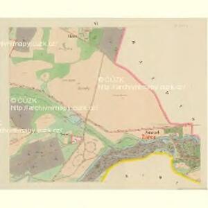 Klein Bor (Maljbor) - c4449-1-005 - Kaiserpflichtexemplar der Landkarten des stabilen Katasters
