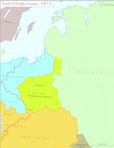 Ostmitteleuropa 1815