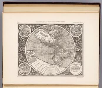 America sive India Novam, 1609.