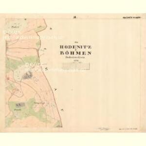 Hodenitz - c5179-2-002 - Kaiserpflichtexemplar der Landkarten des stabilen Katasters