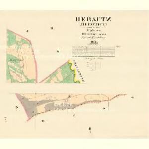 Herautz (Herotice) - m0691-1-002 - Kaiserpflichtexemplar der Landkarten des stabilen Katasters