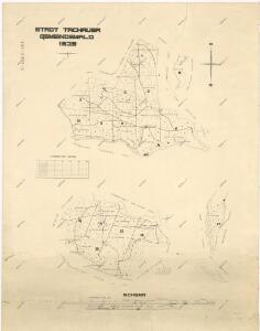 Mapa obecního lesa města Tachov