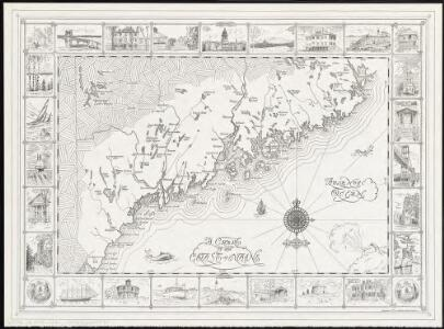 A chart of the coast of Maine