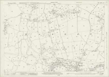 Kent LII.14 (includes: Marden) - 25 Inch Map