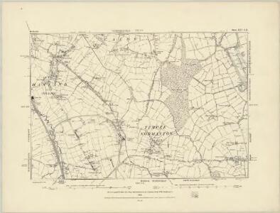 Derbyshire XXV.SW - OS Six-Inch Map