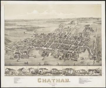 View of Chatham, New Brunswick