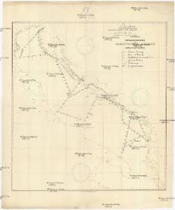 Reiseskizze der 12. Termifahrt S.M.S. Najade