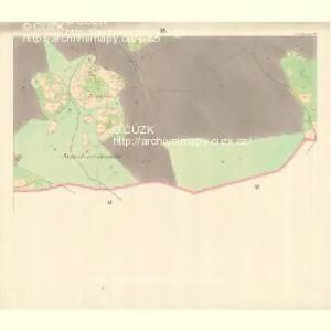 Ober Beczwa (Horny Bečwa) - m0763-1-018 - Kaiserpflichtexemplar der Landkarten des stabilen Katasters