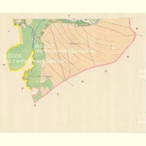 Böhmisch Liebau (Morawska Liwowa) - m0504-2-005 - Kaiserpflichtexemplar der Landkarten des stabilen Katasters