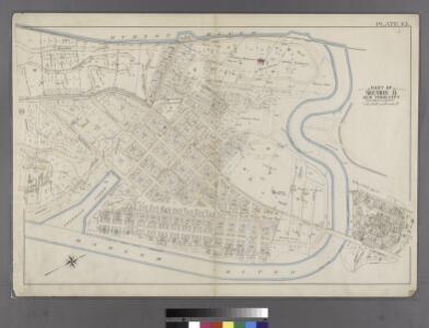 Plate 45: Bounded by Boulevard Lafayette (Hudson River), Harlem River ...
